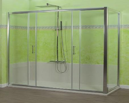 Trasforma la tua vecchia vasca da bagno in un elegante e comodo box doccia con MagicFlex.